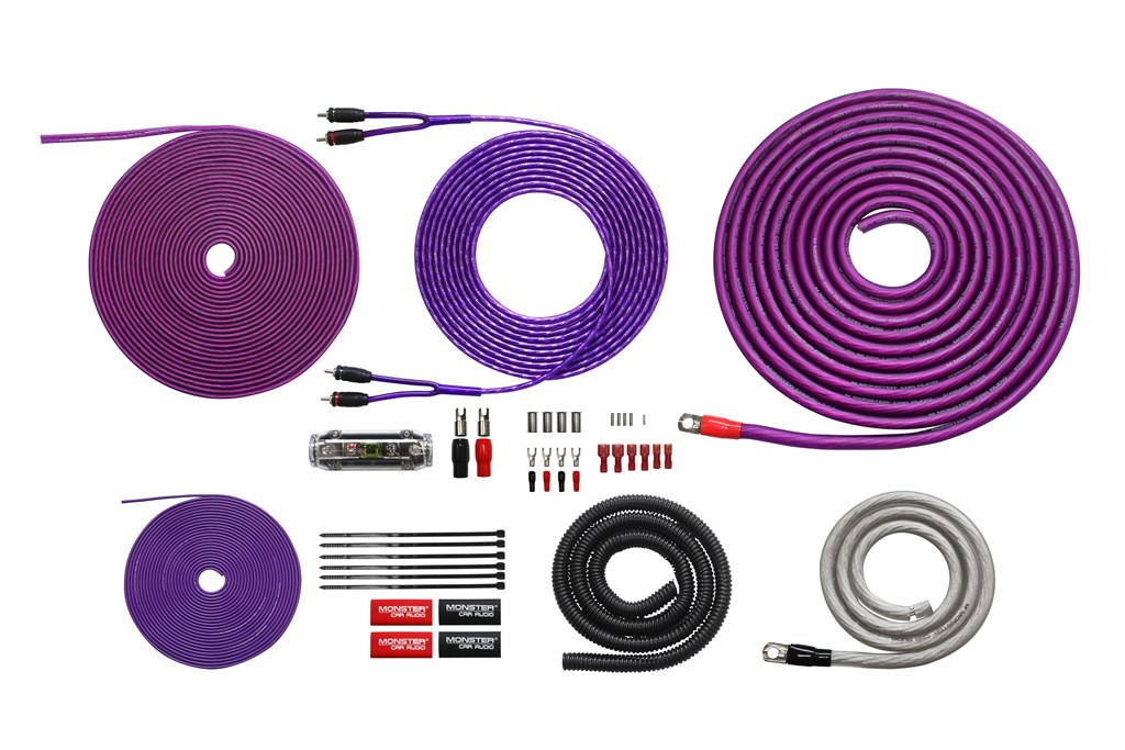 mca baip500s 4 awg amplifier install kit monster car audio rh monstercaraudio jp 4 Gauge Amp Kit Install 4 GA Amp Kit